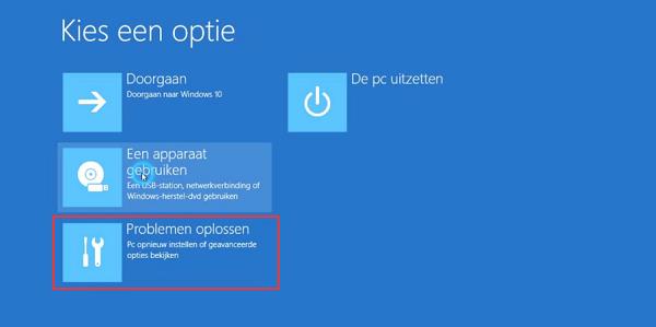 Hoe de Oneindige Automatisch Herstel Loop in Windows 10/8 1